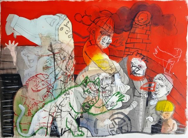 , 'Pidiendo permiso para el rayo,' 2018, Galerie Claire Corcia