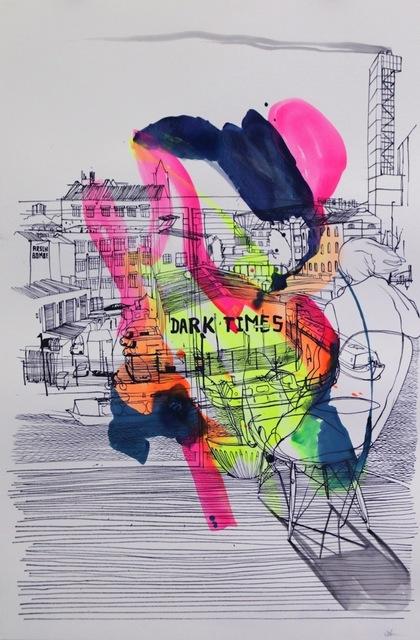 , 'Dark Times ,' 2017, Die Kunstagentin