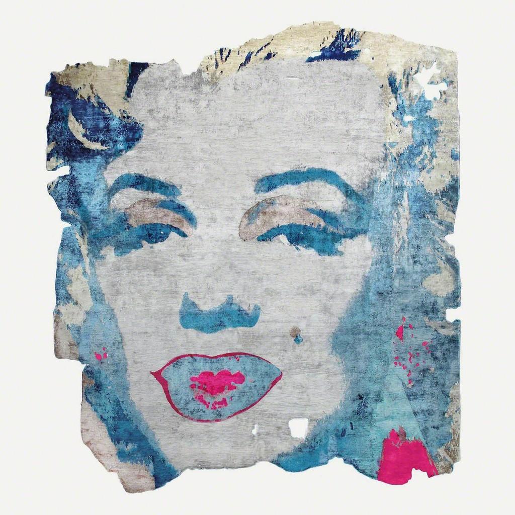 Andy Warhol, Marilyn1967, Arvidsjaur 031E, Design by Calle Henzel, 2015