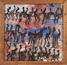 Untitled (riders on horses)