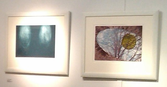 ", '""Dream IV"" and ""First Night"",' , Artis Causa Gallery"