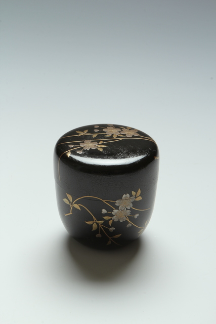 , 'Cherry Blossom Tea Caddy (T-3895),' Showa era (1926-1989) 1960s, Erik Thomsen