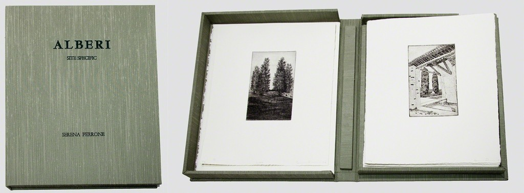 Alberi: Site Specific (portfolio of 12 prints with colophon in linen box)