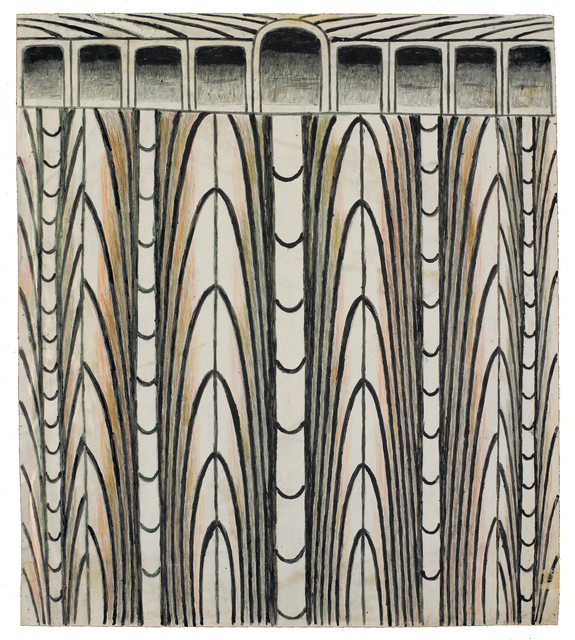 , 'Untitled (Abstraction with Arches),' 1960, Ricco/Maresca Gallery