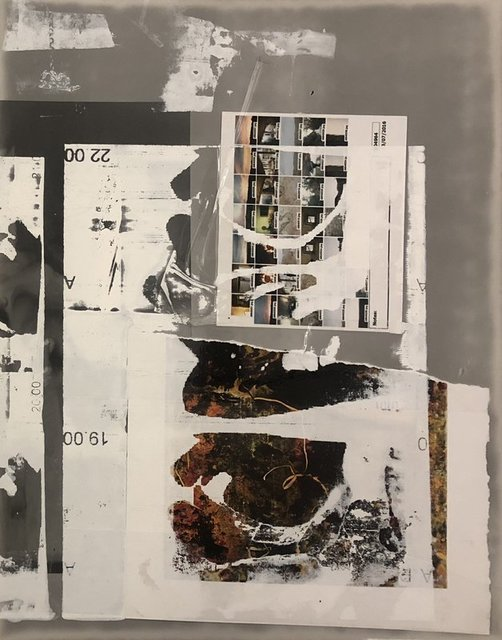Ryan Foerster, 'Hannah 22, Tesuque Hurricane', 2013-2018, Drawing, Collage or other Work on Paper, C print, silk screen, tape and paper, Artadia Benefit Auction