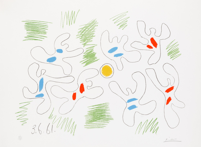 Pablo Picasso, 'Football', 1961, Christopher-Clark Fine Art
