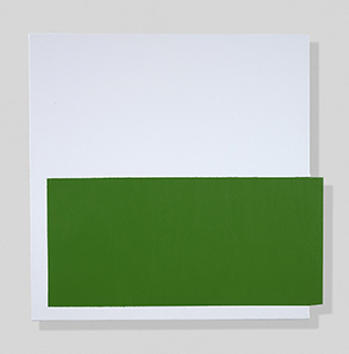 , 'Green, On and Off,' 2018, Berry Campbell Gallery