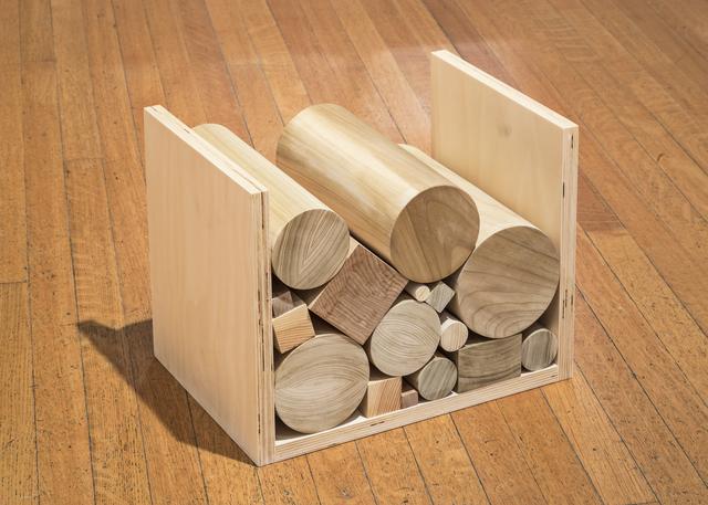 , 'Wood Pile,' 2015, MKG127