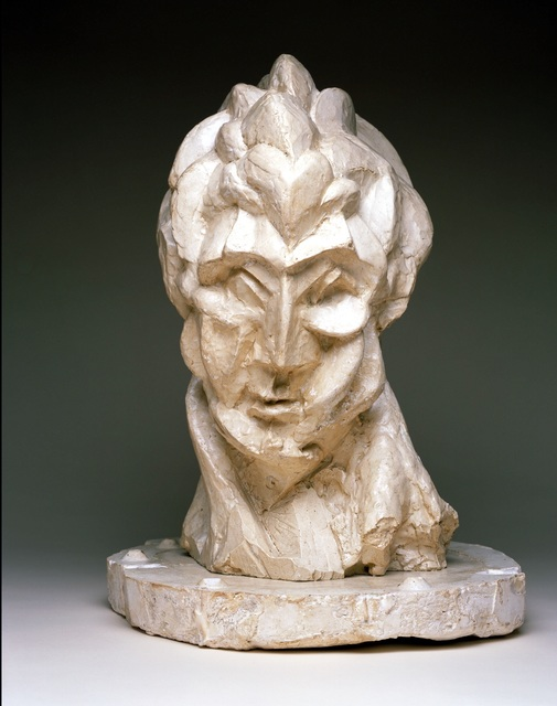 , 'Head of a Woman (Fernande),' 1909, Musée Picasso Paris