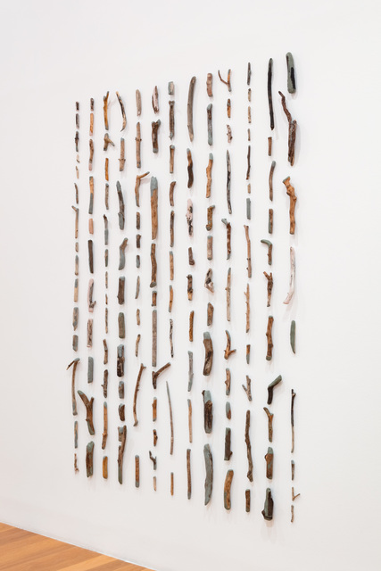 Gabriela Albergaria, 'Repair / recover', 2010 / 2020, Installation, Wood sticks, sulfur free Plastiline, Galeria Vera Cortês
