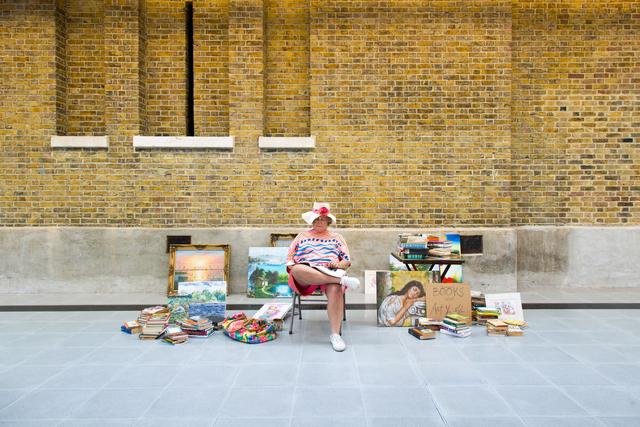 , 'Flea Market Lady,' 1990-1994, Serpentine Galleries