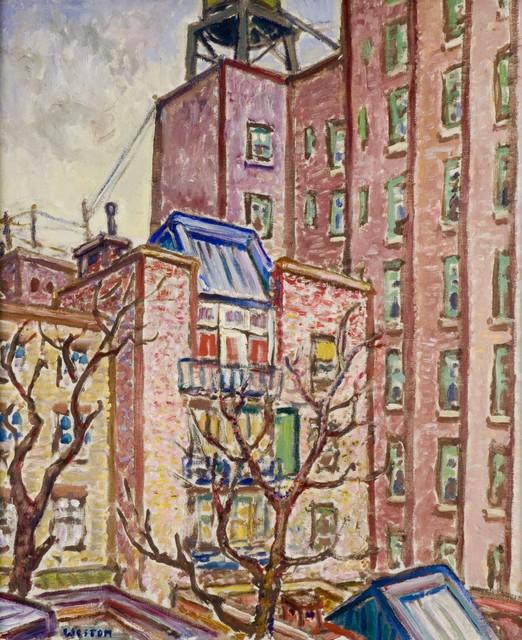 Harold Weston, 'Skylight', 1931, Painting, Oil on canvas, Gerald Peters Gallery