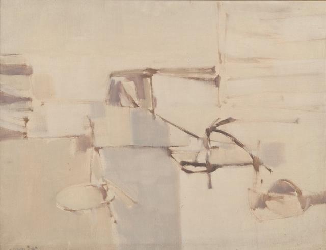 Sergio Romiti, 'Riflessi', 1952, Painting, Oil on canvas, Aste Boetto