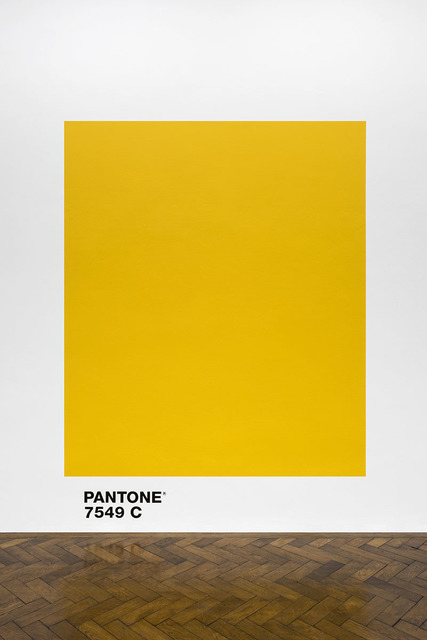 Haim Steinbach, 'pantone7549c', 2018, Galerie Hubert Winter