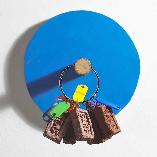 , 'Buy the painting, get the key ring free (display model),' 2015, Kevin Kavanagh