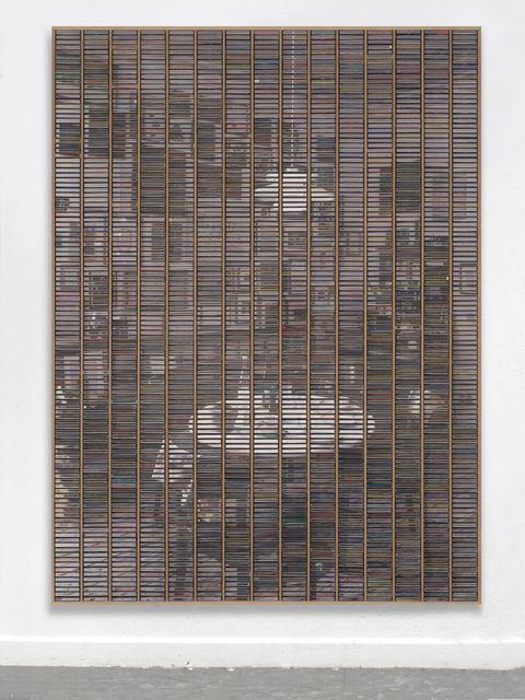 "Gregor Hildebrandt, '""Blick in die Küche Küche""', 2019, Almine Rech"