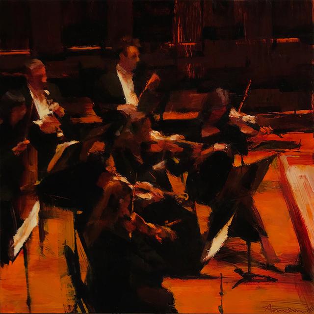 , 'Symphony Hall,' 2018, Alpha Gallery