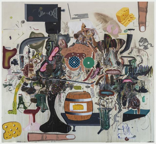 , 'Bomtom Ladderboys,' 2014, Galerie Peter Kilchmann