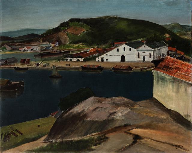 , 'Ponta d'Areia,' 1944, Pinakotheke Cultural
