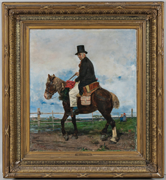 A Gentleman Caller on Horseback