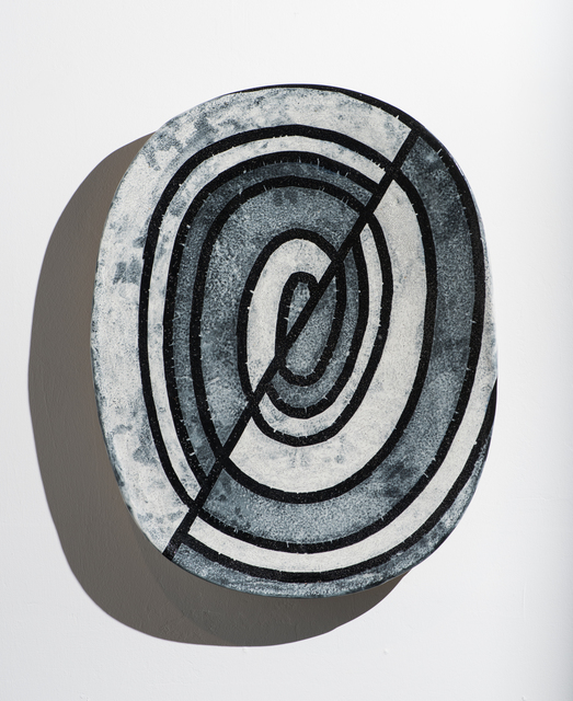 Jun Kaneko, 'Wall Slab 93-01-31', 1992, Bentley Gallery