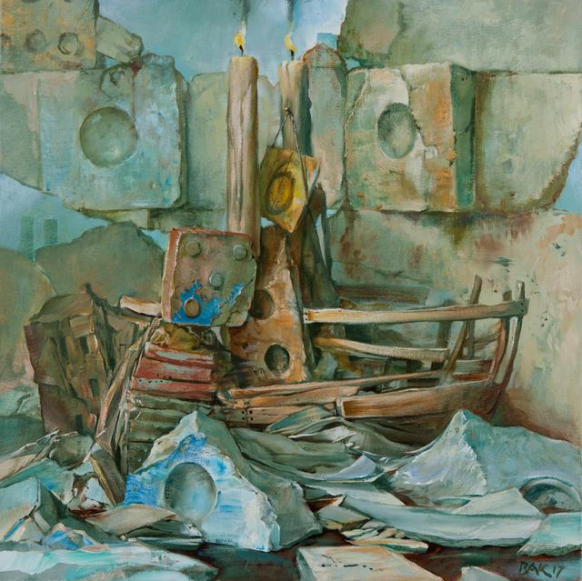 Samuel Bak, 'With Luck', 2017, Pucker Gallery