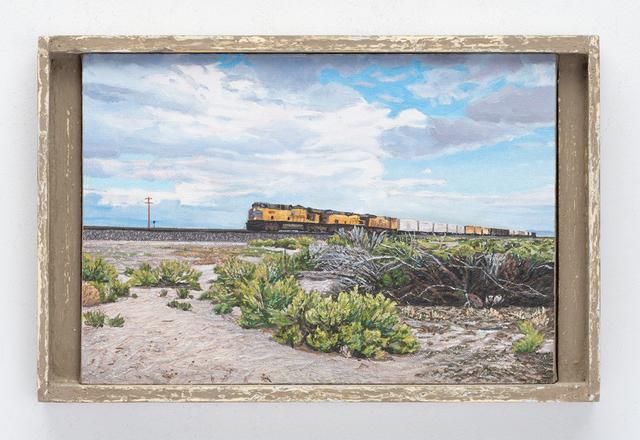 , 'Freight Train, Millard County, Utah,' 2011, Valley House Gallery & Sculpture Garden