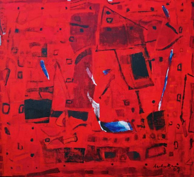 , 'Untitled (Red Abstract),' 2007, The Noble Sage Collection