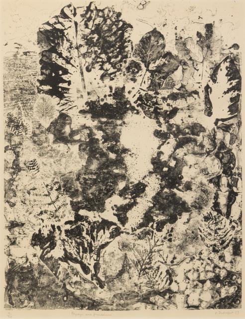 Jean Dubuffet, 'Paysage aux Frondaisons', 1953, Hindman