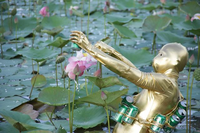 , 'Qingdao Lotus Pond,' 2018, Denny Dimin Gallery