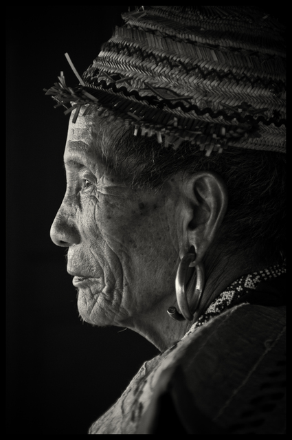 , 'Lunbawang Tribal Elder, Ba'Kelalan, Sarawak, Borneo, Malaysia,' 2012, SCShekar