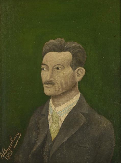 , 'Portrait d'homme à la chemise rayée,' 1926, Jeanne Bucher Jaeger