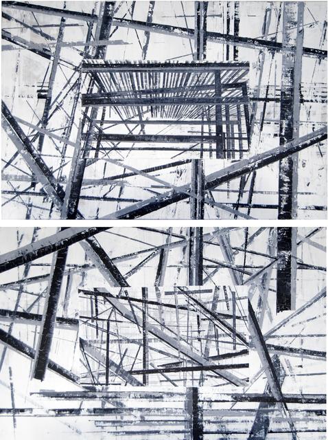 , 'Diptych: Between lines,' 2019, ArteMorfosis - Galería de Arte Cubano