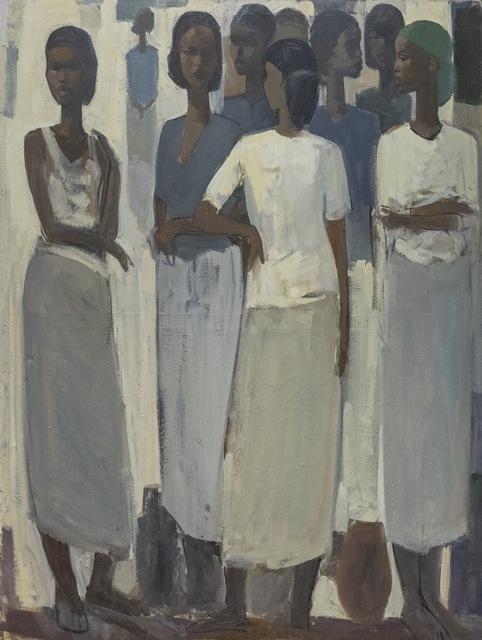 , 'Pillars of Life: Saturday Market IV,' 2019, Addis Fine Art