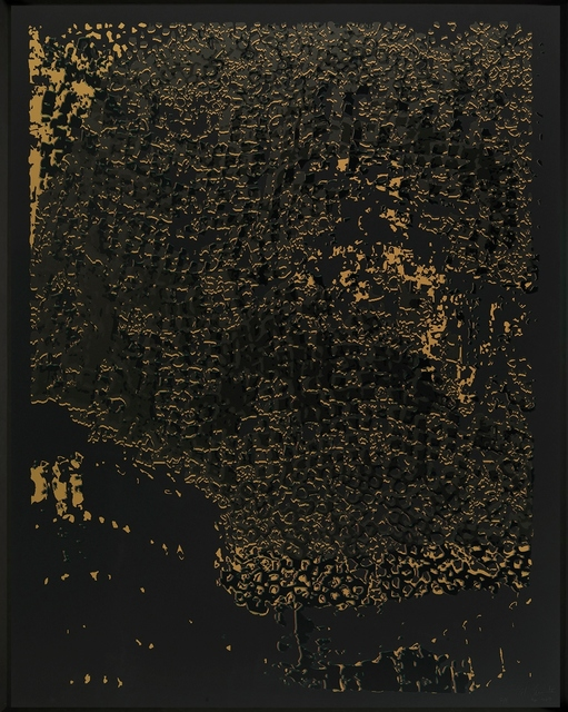 El Anatsui, 'Untitled (Black Edge with Pearl)', 2013, Zane Bennett Contemporary Art