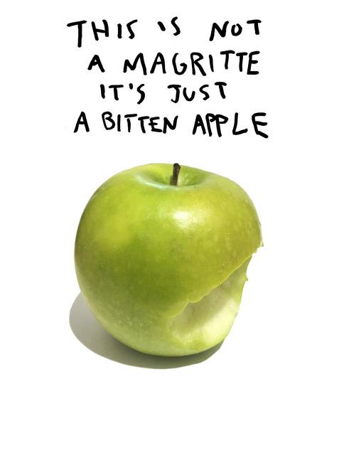 , 'Not a Magritte ,' 2018, Imitate Modern
