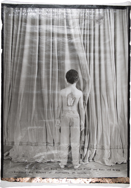 , 'Ges in Front of Curtain,' 2000, 315 Gallery