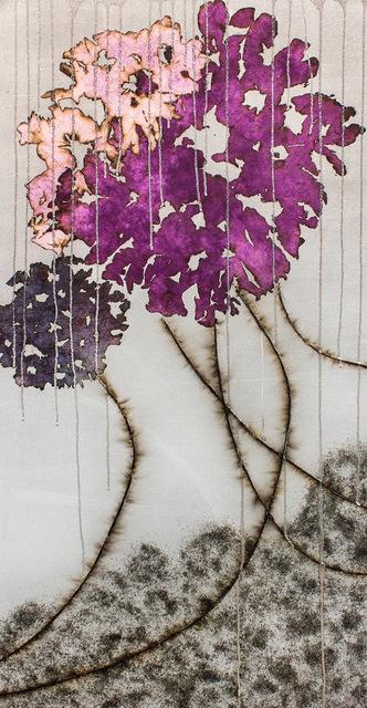 Mira Lehr, 'Silver Veil', 2019, Rosenbaum Contemporary