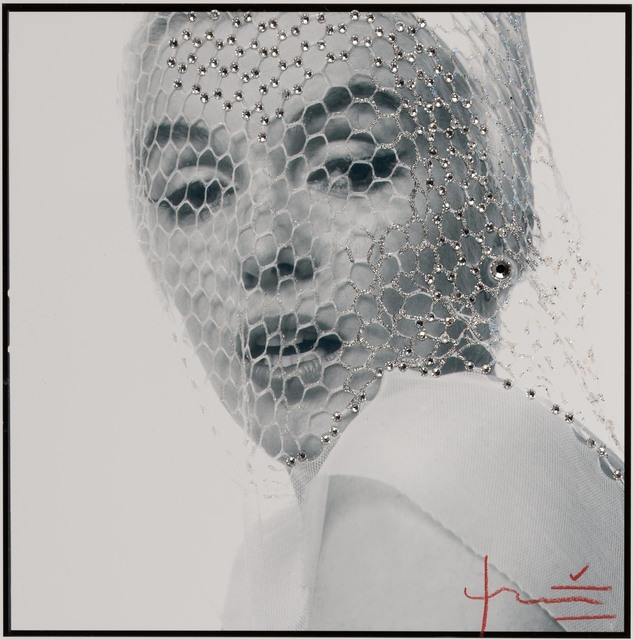 Bert Stern, 'Marilyn Monroe behind a white veil, from The Last Sitting for Vogue', 1962, Doyle
