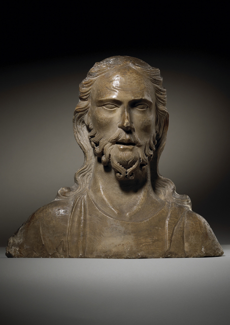 , 'Bust of Christ  ,' ca. 1322-1323, Tomasso Brothers
