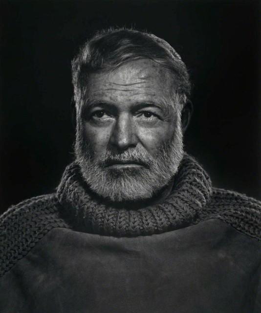 , 'Ernest Hemingway,' 1957, Huxley-Parlour
