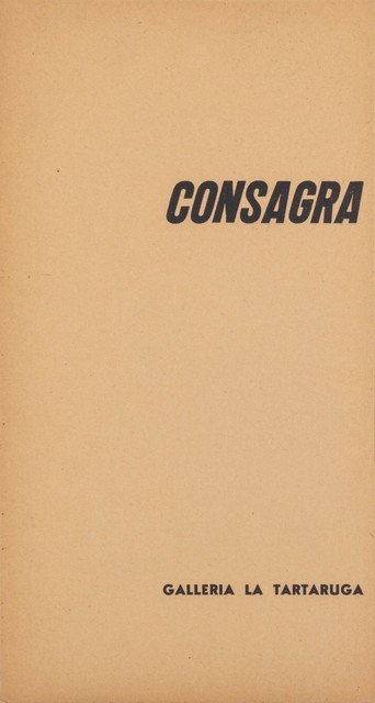 Pietro Consagra, 'Consagra', 1958, Finarte