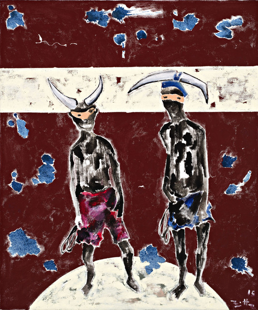 , 'Carnaval Haïtien,' 2015, Galerie Eva Meyer