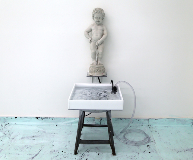 , 'Fountain,' 2014, Corey Oberlander + Lindsey Stapleton