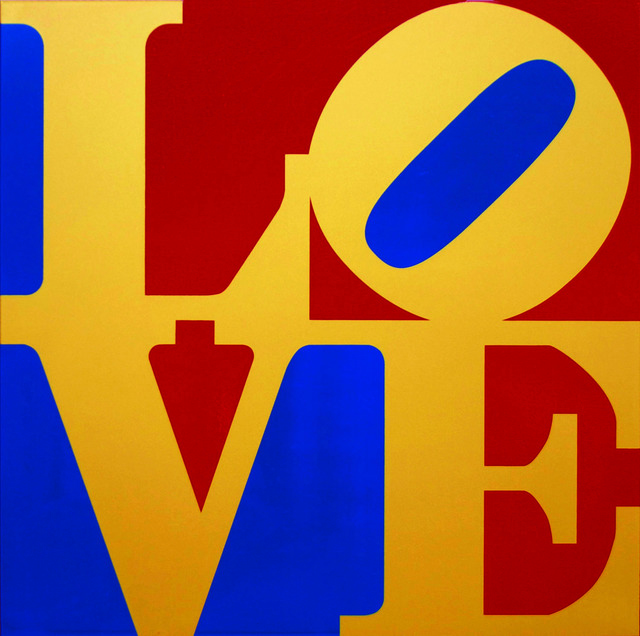 , 'Book of LOVE (Gold/Red/Blue),' 1996, Rosenbaum Contemporary