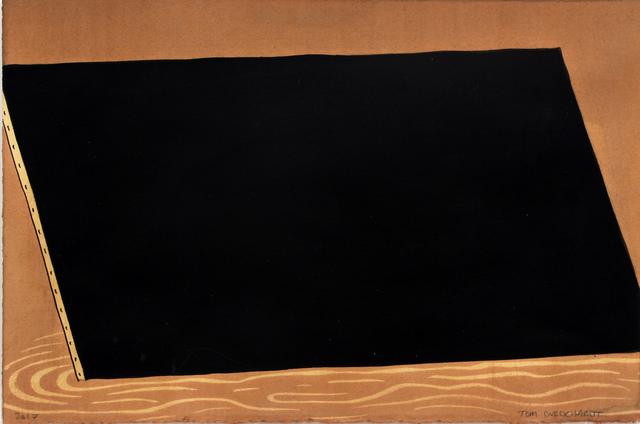 , 'Black Monochrome (Trapazoid),' 2017, Pierogi