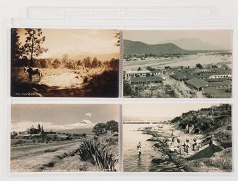 A Group of Four Postcards (4 works)