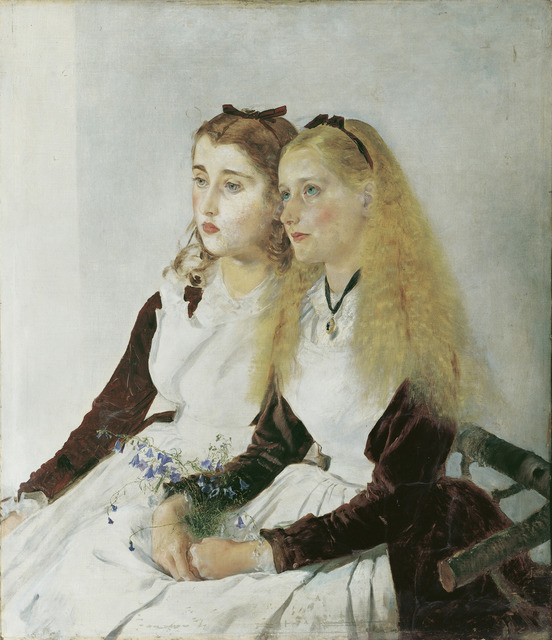 , 'The Artist's Nieces, Elizabeth and Maja,' 1873, The National Gallery, London