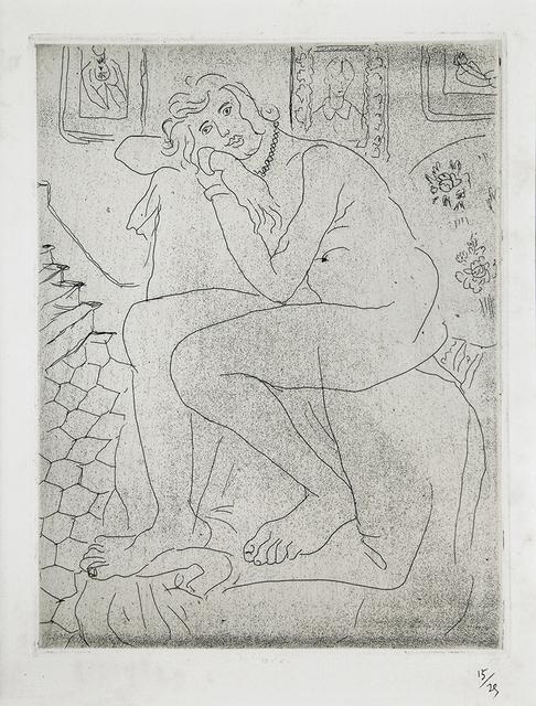 , 'Nu assis et portrait de Mme Cézanne,' , Lyndsey Ingram