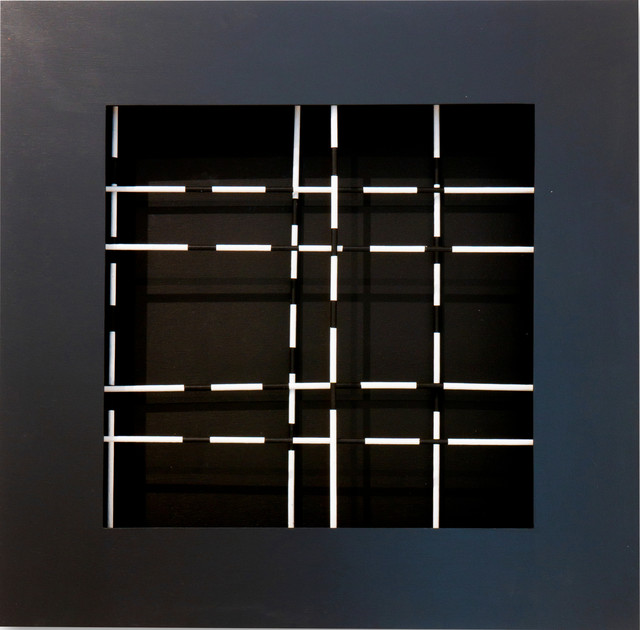 Dario Perez-Flores, 'Mobile trama noir et blanc', 1970, Valmore Studio d'Arte
